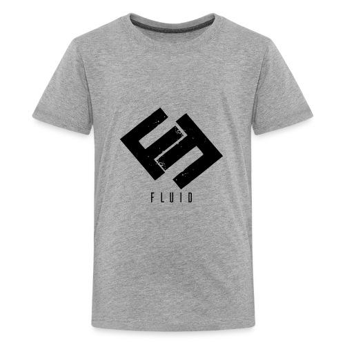Fluid Logo - Kids' Premium T-Shirt