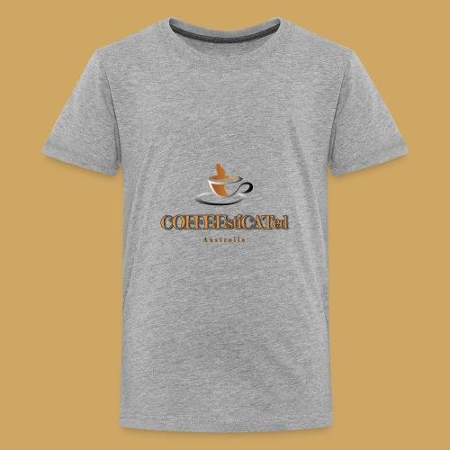 COFFEEstiCATed Australia - Kids' Premium T-Shirt