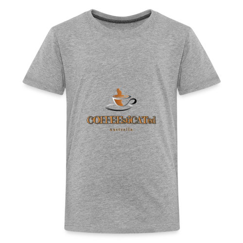 COFFEEstiCATed Australia - Kids' Premium T-Shirt