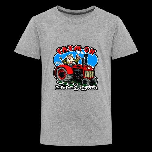 Mr Natural Farm On - Kids' Premium T-Shirt