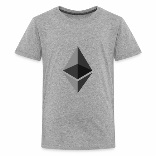 ethereum icon brand - Kids' Premium T-Shirt