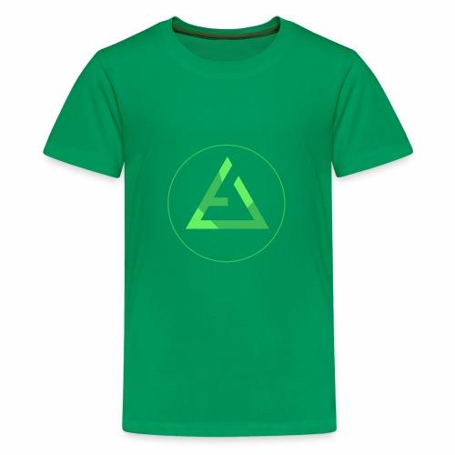 crypto logo branding - Kids' Premium T-Shirt