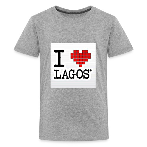 I LOVE LAGOS - Kids' Premium T-Shirt