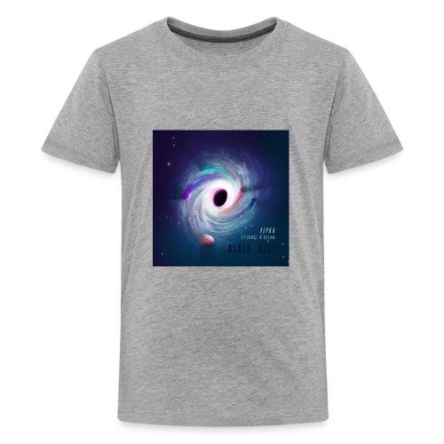 Black Hole Cover Art Design - Kids' Premium T-Shirt