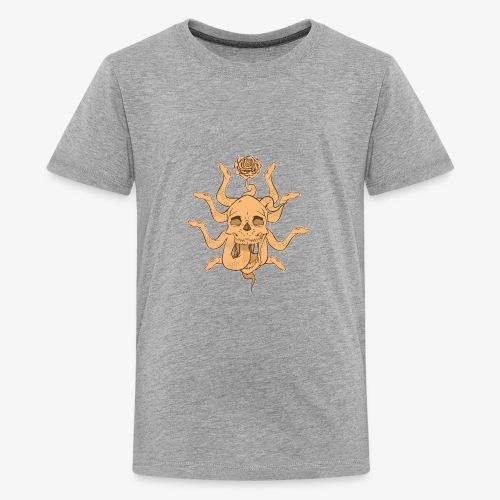 Snake skull sun - Kids' Premium T-Shirt