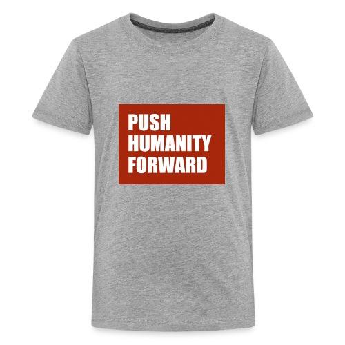 Push Humanity Forward Logo - Kids' Premium T-Shirt