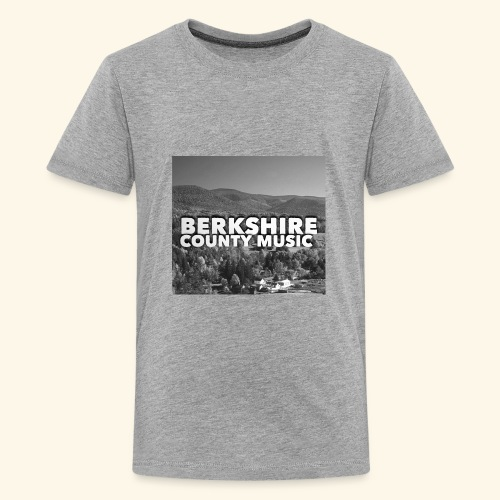 Berkshire County Music Black/White - Kids' Premium T-Shirt