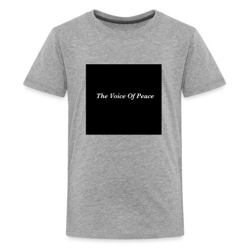 The Voice of Peace - Kids' Premium T-Shirt