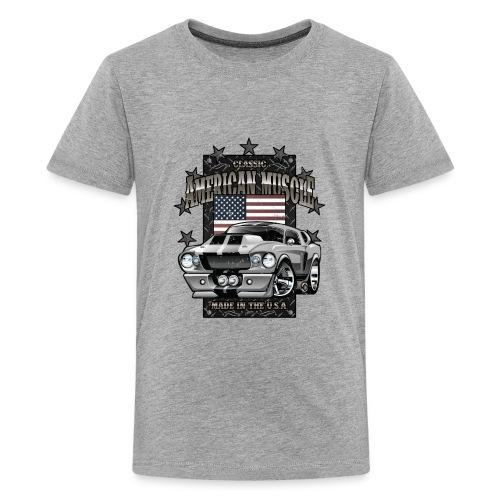Classic American Muscle Car - Kids' Premium T-Shirt