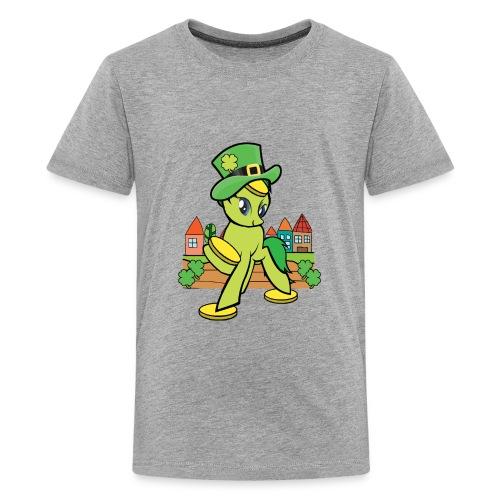 Irish Lucky Pony - Kids' Premium T-Shirt