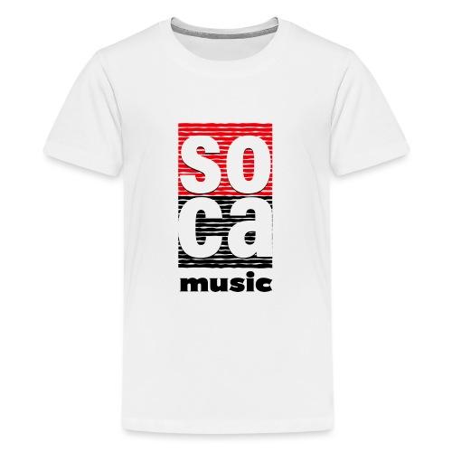 Soca music - Kids' Premium T-Shirt