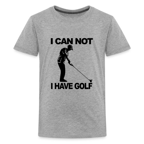 Golf Design - Kids' Premium T-Shirt