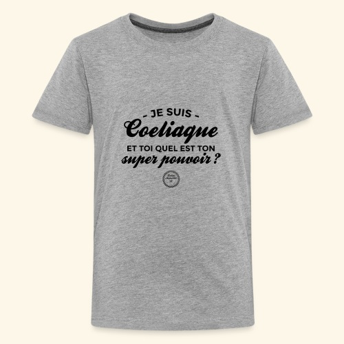 Celiac superpower - Kids' Premium T-Shirt