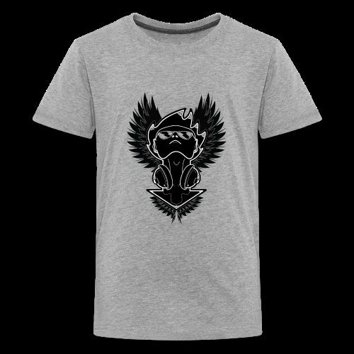Winged Dj - Kids' Premium T-Shirt