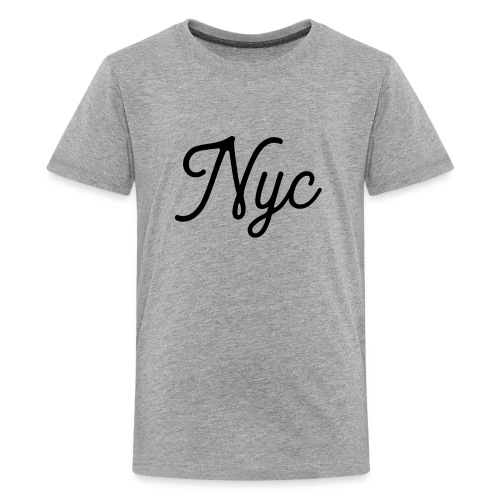 NYC Serif T-Shirt - Kids' Premium T-Shirt