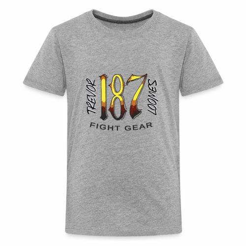 Coloured Trevor Loomes 187 Fight Gear Logo - Kids' Premium T-Shirt