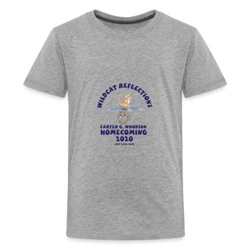 Carter G Woodson Homecoming Logo Blue - Kids' Premium T-Shirt