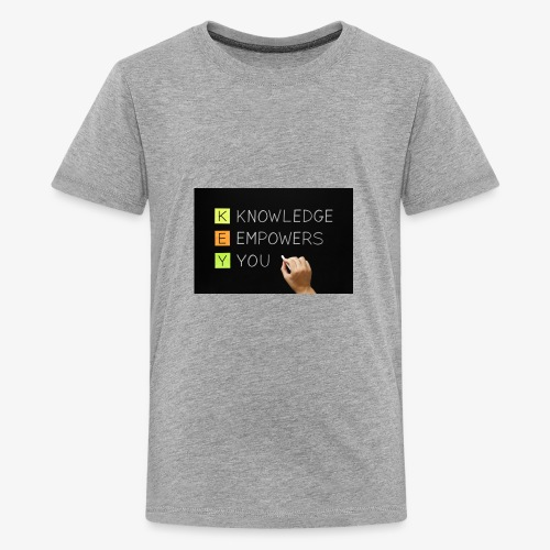 knowledge is power - Kids' Premium T-Shirt