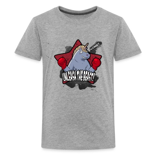 Kid Boxing Unicorn - Kids' Premium T-Shirt