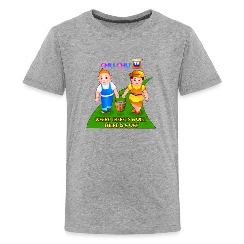 Motivational Slogan 8 - Kids' Premium T-Shirt