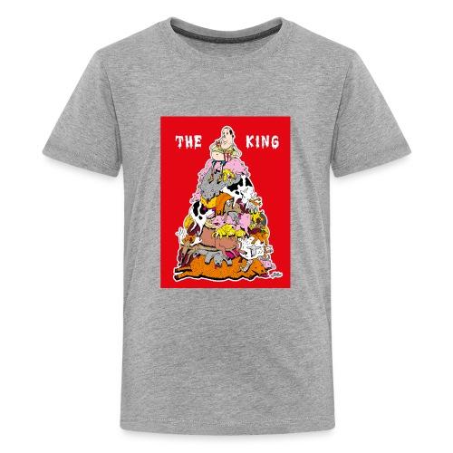 The king red - Kids' Premium T-Shirt