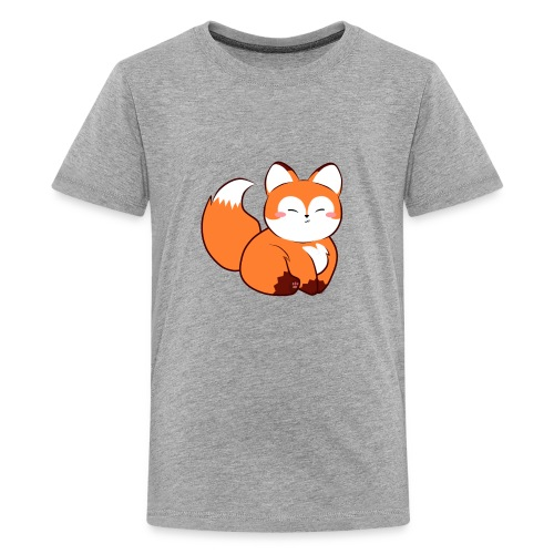 fat little baby fox - Kids' Premium T-Shirt