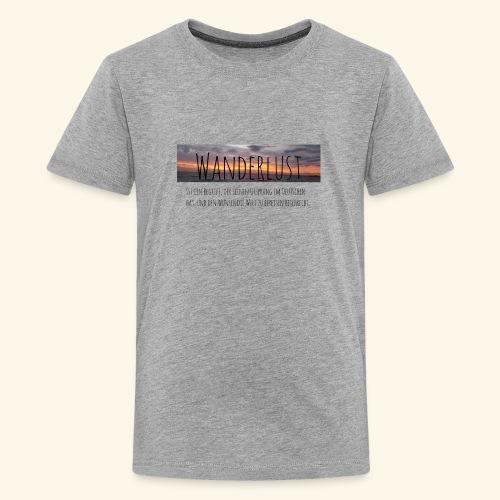 Wanderlust (german) - Kids' Premium T-Shirt