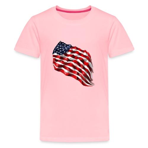 Bold Flag - Kids' Premium T-Shirt
