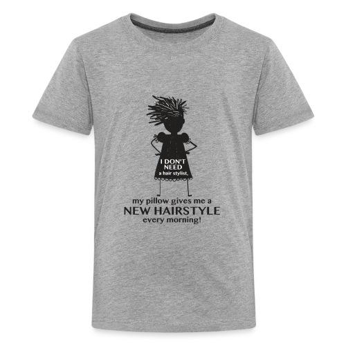 No Hair Style - Kids' Premium T-Shirt