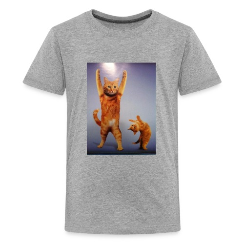 can do all things cat - Kids' Premium T-Shirt