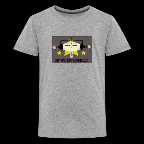 Butch DeLuca Music Skull w/ Headphones - Kids' Premium T-Shirt