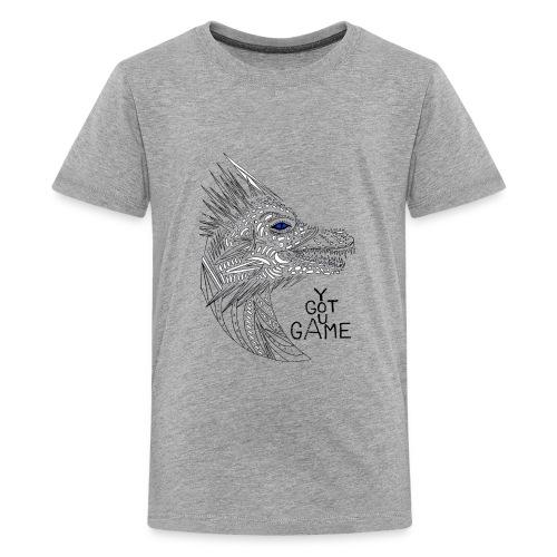 Blue eye dragon - Kids' Premium T-Shirt