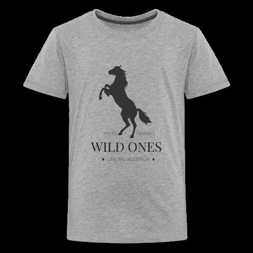 WILD ONES Horse 1 - Kids' Premium T-Shirt