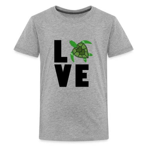 I Love Turtles - Kids' Premium T-Shirt