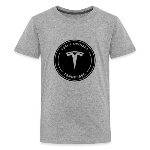 Tesla Owners Logo Black - Kids' Premium T-Shirt