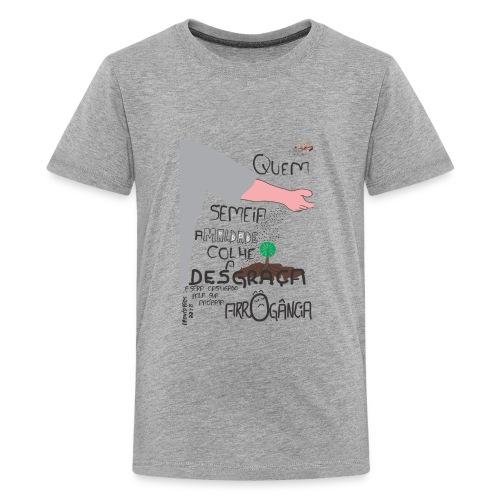 Provérbios_22:8 - Kids' Premium T-Shirt