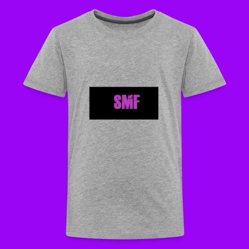 SMF purple muddy - Kids' Premium T-Shirt