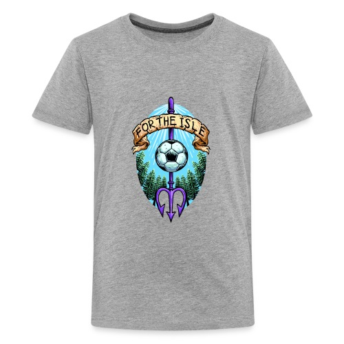 For The Isle Vancouver Island Badge - Pacific FC - Kids' Premium T-Shirt