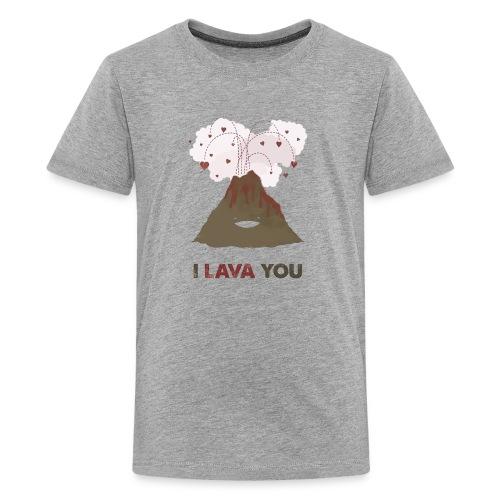 i lava you - Kids' Premium T-Shirt