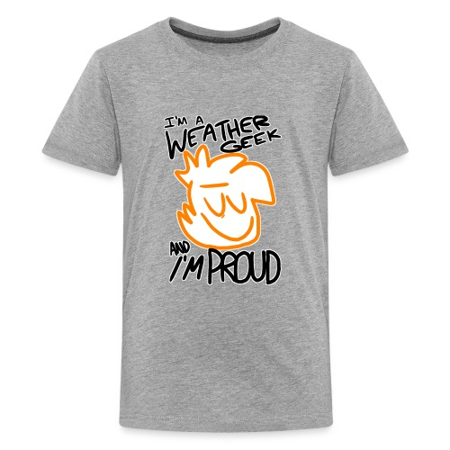 I'm A Weather Geek Week And I'm Proud - Kids' Premium T-Shirt
