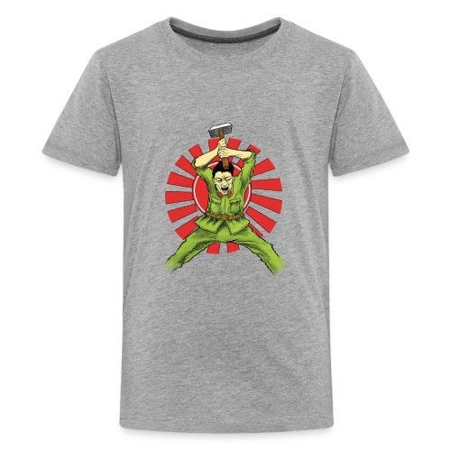 The Asian Warrior - Kids' Premium T-Shirt