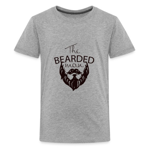 The bearded man - Kids' Premium T-Shirt
