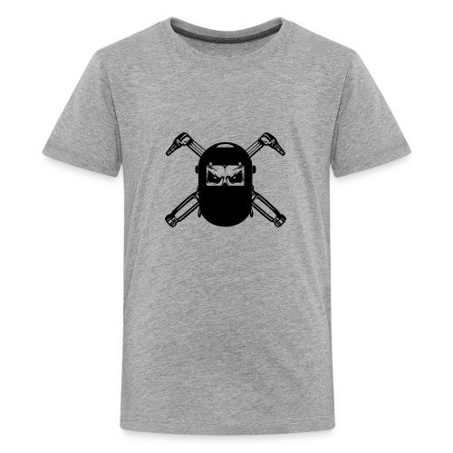 Welder Skull - Kids' Premium T-Shirt