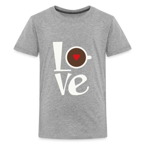 Love Coffee - Kids' Premium T-Shirt