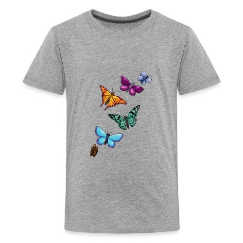 butterfly tattoo designs - Kids' Premium T-Shirt