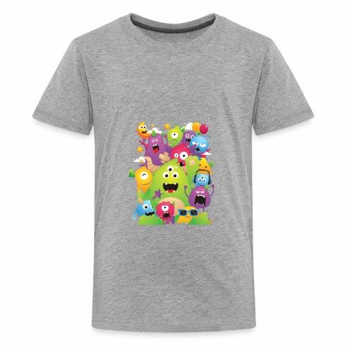 Monster Party - Kids' Premium T-Shirt
