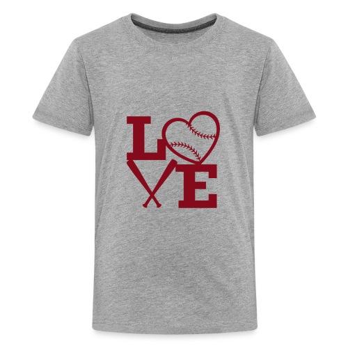 Love baseball - Kids' Premium T-Shirt