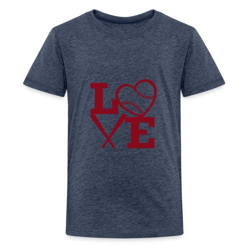 Love baseball - Kids' Premium T-Shirt