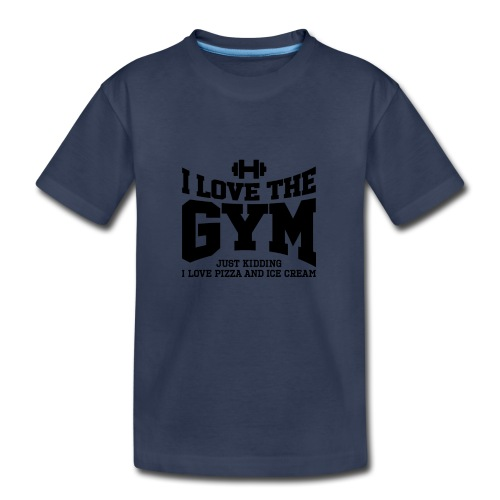 I love the gym - Kids' Premium T-Shirt