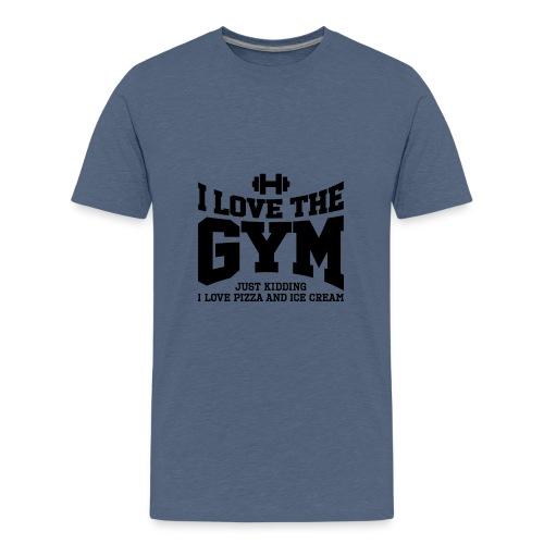I love the gym - Kids' Premium T-Shirt